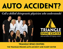 "Triangle Spine Center - 5.75""x4.5"" Postcard"