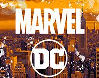 MARVEL & DC illustration
