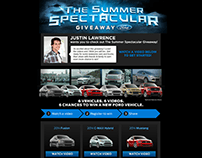 Ford Giveaway Website