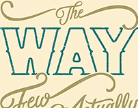 All Know The Way Poster
