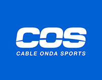 Cable Onda Sports - Branding Package