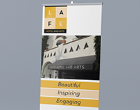LA FE Hotel and Arts - Banners