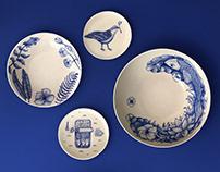 Serie Azul - Pottery
