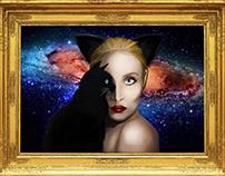 Woman n cat