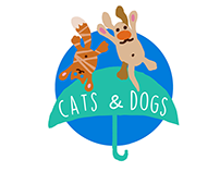 Cats&Dogs Umbrella marketing