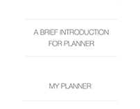 website design for planner