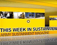 Motion Graphic - Army Sustainment Magazine