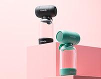 Sodapop Bass Bottle Speaker