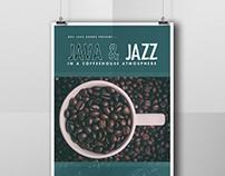 """Java & Jazz"" Poster"