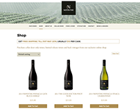 Nepenthe Wines E-Commerce Responsive Website