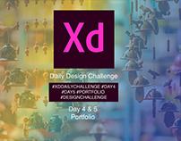 Adobe Daily Challenge - Fashion Designer Portfolio