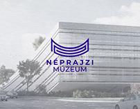 """Néprajzi Múzeum Budapest """"Spirál"""" logó koncepció"""