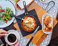 CAFE BREAKFAST AND RESTAURANT DISHES