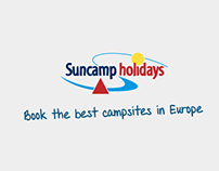 Suncamp Holidays - redesign