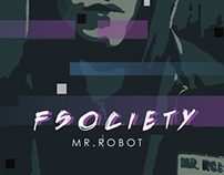 // fsociety00.dat // Mr. Robot Illustration //