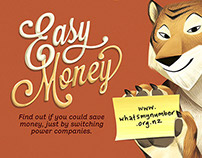 Easy Money Animals Campaign