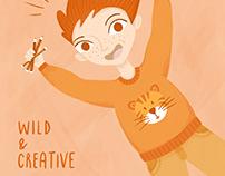 """Kids in Colorz"" Challenge - Illustrations"