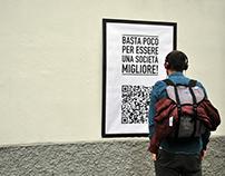 Basta una mano di bianco – Viral campaign