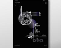 TYPOGRAPHIE & TOPOGRAPHIE - affiche