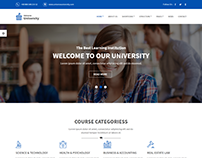Universe - Education HTML Template