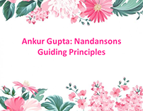 Ankur Gupta Nandansons Guiding Principles