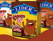 Nova embalagem Choco Kids