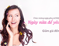 Solo.vn: Web banners - Fashion and cosmetics