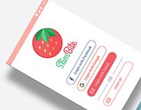 Slim Bite - mobile app case study