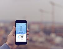Zebra Weather App (UX/UI)