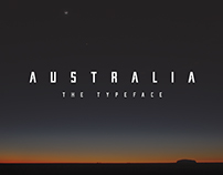 Australia - The Typeface by Denver