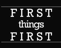 First Things First: A manifesto, redesigned.