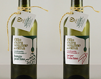 Russo Olive Oil Labels