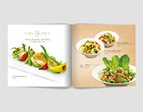Menu Design for 1618 Restaurant - 2014