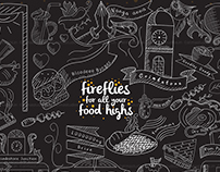 Fireflies - Coimbatore Night Restaurant Branding