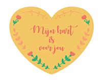 Mijn hart is voor jou - project voor BOSK Vereniging