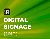 Digital Signage - Fone Zone Campaigns [2010]