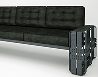INDUSTRIA COUCH