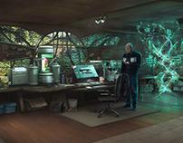 Woodland Science Lab