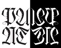 Fraktur Font Design