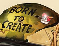 The Creative Pain: Born to create