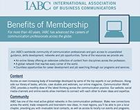 IABC Membership Marketing Materials Redesign