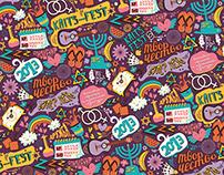 Kaits-fest 2013 / Branding / Pattern