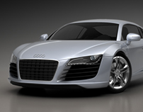 Audi R8 - 3D Render
