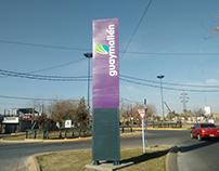 Tótem ciudad de Guaymallén, Mendoza