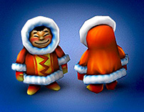 """Smash Frenzy 4. """"Snow world"""". Low-poly Characters."""