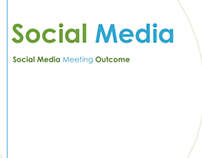 Social media meeting Agenda and outcome