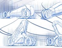 Evol 2030 - A concept car