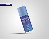 Free Cosmetic Bottle Mockup