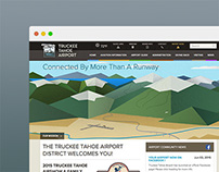 Truckee Tahoe Airport Website Design