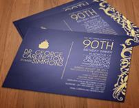 Corporate Birthday Invitation